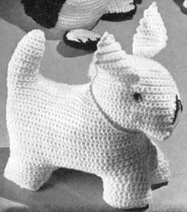 Crocheted Dog Pattern