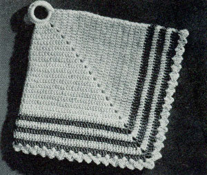 Diamond Potholder Pattern 9364 Crochet Patterns