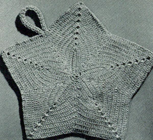 Crochet Cat Potholder Pattern - Crochet 365 Knit Too | 274x300