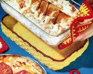 Crochet tote patterns for the kitchen - Crochetnmore