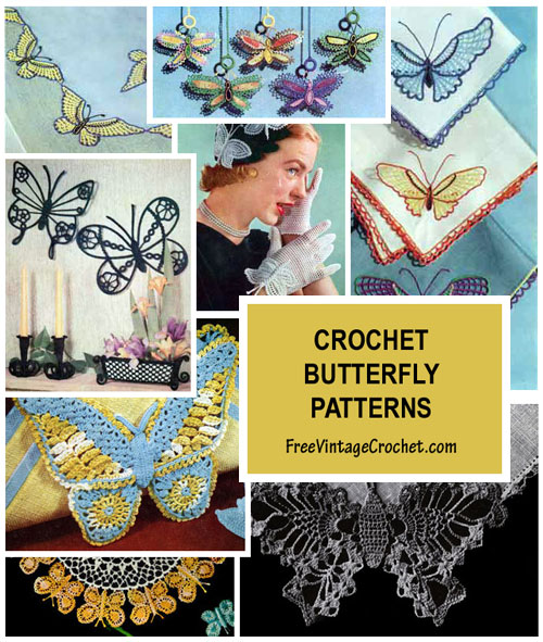 Free Butterfly Patterns | Crochet Patterns