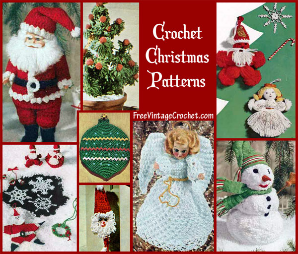 Christmas Crochet Patterns : Free Christmas Crochet Patterns Snowflake Patterns Free Crochet