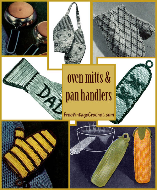 crochet oven mitts patterns