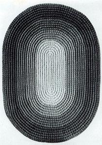 Oval Rug Pattern Crochet Patterns