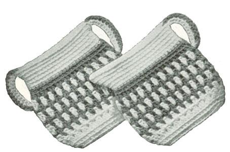 Sugar N Cream Potholders Pattern Crochet Patterns
