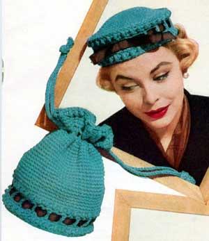 bff838833d107 Pill Box Hat Pattern   Crochet Patterns