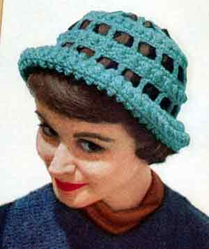 Free Crochet Patterns For Vintage Hats : Ribbon Cloche Pattern Crochet Patterns
