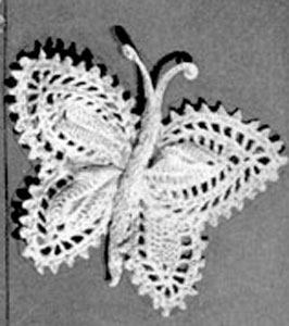 Butterflies Pattern #2640 Crochet Patterns
