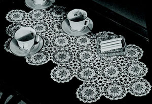 Coffee Table Cover Pattern 1543