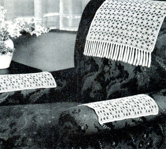 Chair Set Pattern #2129 | Crochet Patterns
