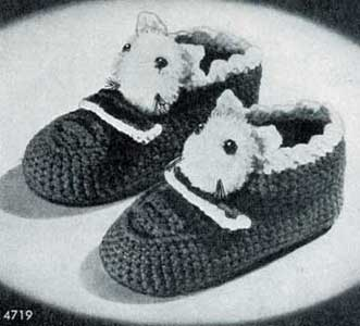 Puss in Boots Slippers Pattern | No. 4719