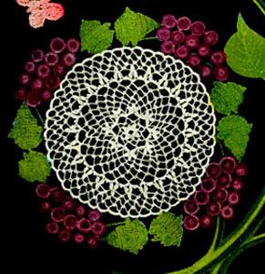 Grape Doily Pattern Crochet Patterns