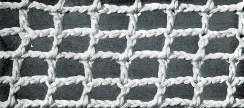 Square Mesh Stitch | Crochet Patterns