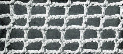 Square Mesh Stitch Crochet Patterns