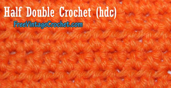 Half Double Crochet Hdc Crochet Patterns