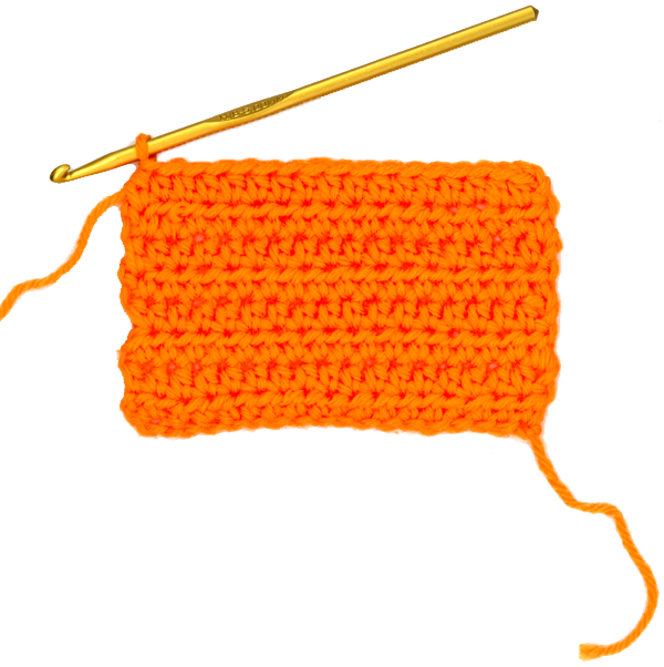 half double crochet stitch