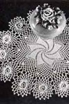 Rose Whirl Doily pattern