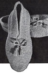mens knitted slippers