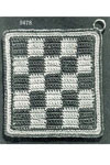 Checkerboard Potholder pattern