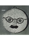 Man's Face Potholder pattern