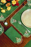 minuet luncheon set pattern