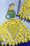 pineapple walk motif crochet pattern