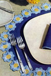 heavenly blue doily pattern