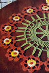 flower cartwheel doily pattern
