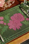 rose bouquet doily pattern