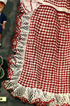 checkerboard apron pattern
