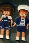 brother and sister doll patterns