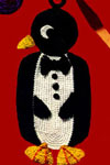 penguin potholder