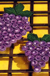 grape arbor hot plate mat pattern