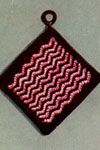 chevron pot holder