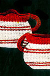 sugar n cream pot holder pattern