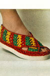 beach sandal crochet pattern