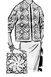 Crocheted Jacket #551 pattern