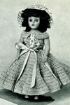 Party Girl Doll pattern