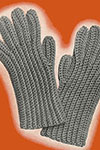 Mens Crochet Gloves pattern