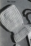 ribbed hat pattern