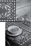 breakfast table color placemat pattern