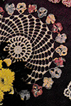 Pansy Wreath Doily Pattern