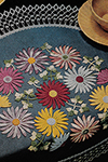 Flower Show Table Doily Pattern