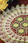 scalloped circles doily pattern