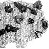 perky pig pot holder pattern