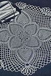 Pineapple Posy Doily pattern
