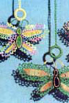 Butterfly Shade Pulls pattern