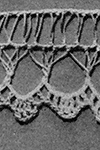 Hairpin Lace Edging pattern