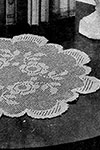 Rose Bowl Doily pattern