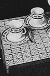 Tray for Three Placemat pattern